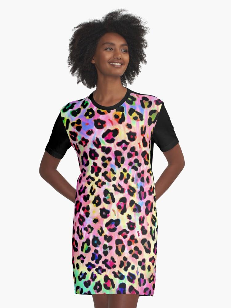 4b30b2eeb7e Rainbow Tie Dye Leopard Print