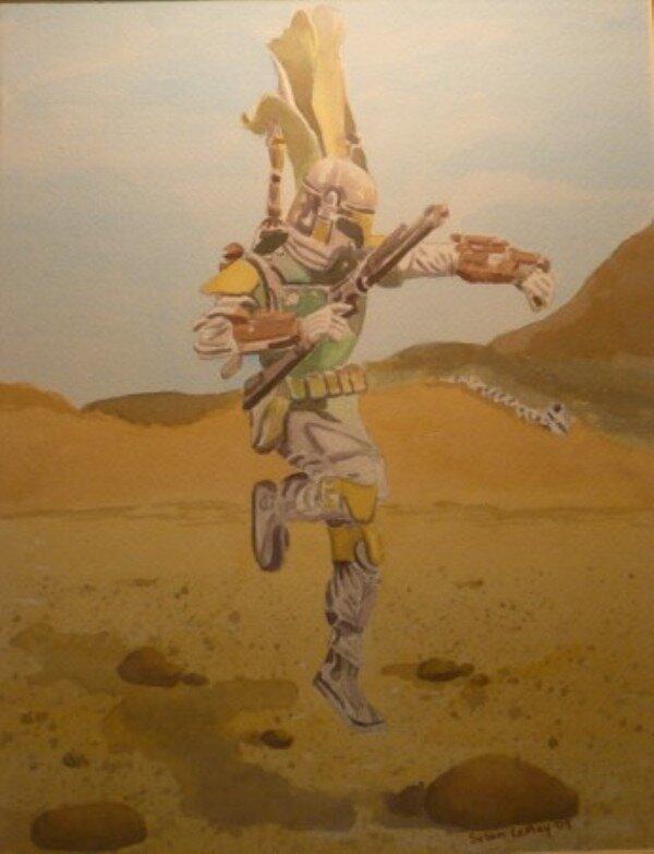 Boba Fett by Susan LeMay RN