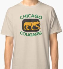 CHICAGO COUGARS HOCKEY RETRO Classic T-Shirt