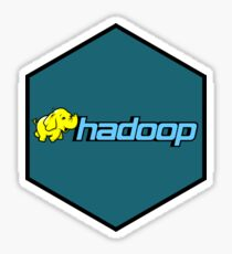 apache hadoop hexagonal Sticker