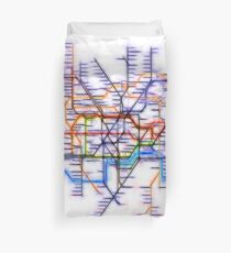 London Underground Tube Duvet Cover
