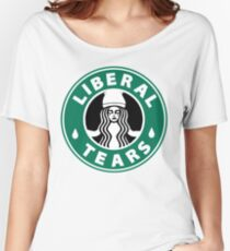 Liberal tears Coffee Women's Relaxed Fit T-Shirt