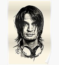 Radiohead - Jonny Greenwood Poster