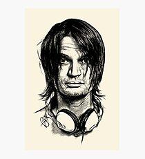 Radiohead - Jonny Greenwood Photographic Print