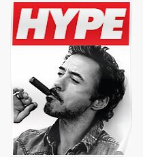 HYPE RED | Robert  Downey Jr Poster
