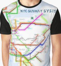 Nyc Subway Map Tshirt.Subway Map T Shirts Redbubble