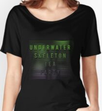 Underwater Skeleton Tea Party - Waves Women's Relaxed Fit T-Shirt
