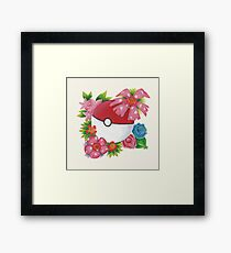 Floral ball  Framed Print