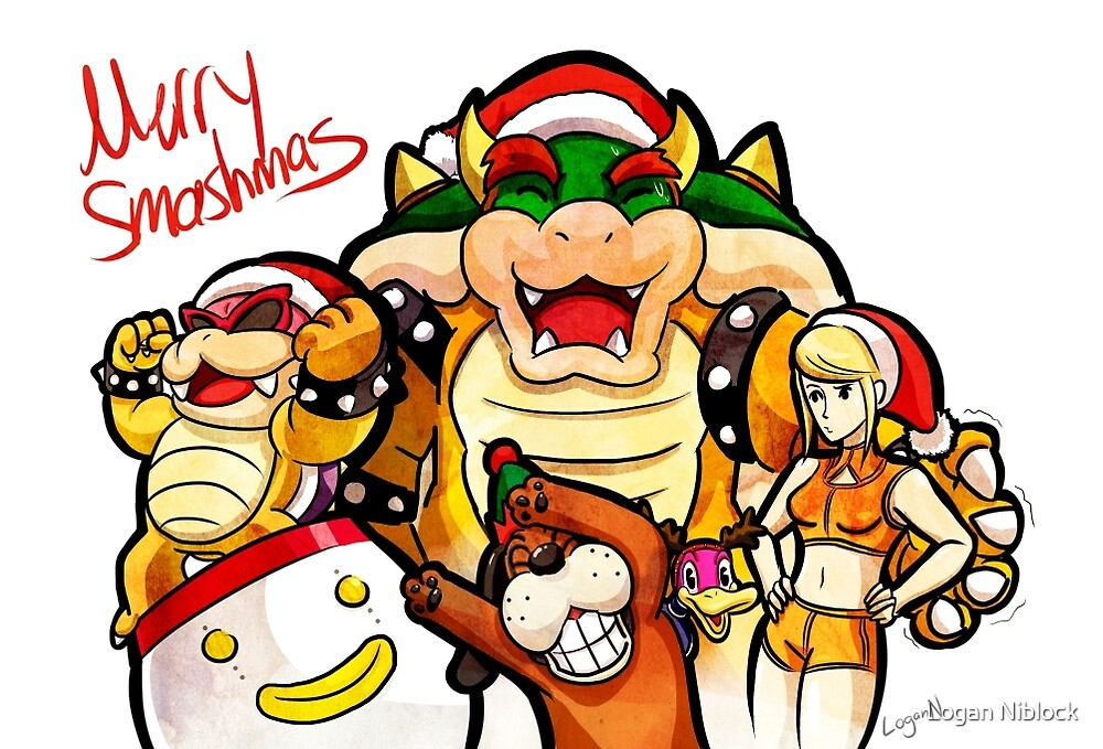 Merry Smashmas by Logan Niblock