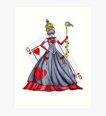 Queen of Heart Art Print