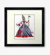 Queen of Heart Framed Print