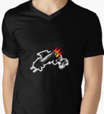 Bloodstar - Stylised Men's V-Neck T-Shirt
