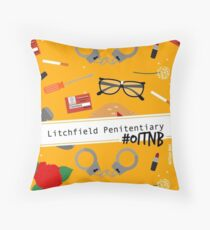 OITNB  Throw Pillow