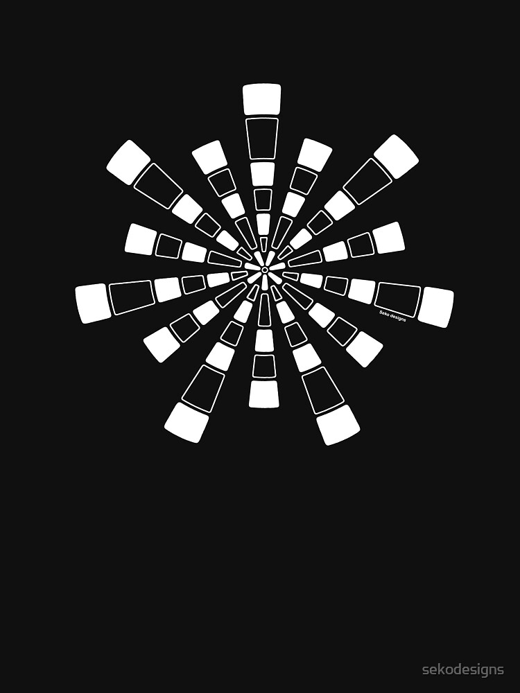 Mandala 31 Simply White by sekodesigns