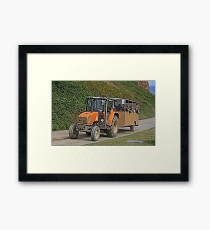 Sark Bus Framed Print