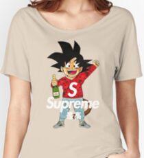 goku sup Women's Relaxed Fit T-Shirt