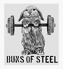 Buns of Steel (Light) Photographic Print