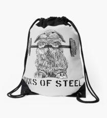 Brioches d'acier (légères) Sac à cordon