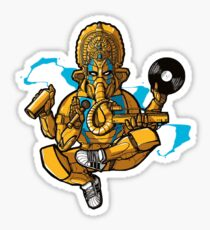 HIP HOP BRONZE ELEPHANT GURU Sticker