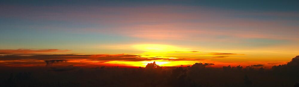 Philippine Sunset by John Stephens