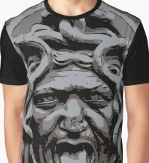 Medusa bas relief Graphic T-Shirt