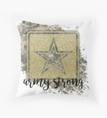 Army Strong Throw Pillow