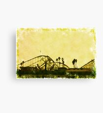 Big Dipper, Santa Cruz Beach Boardwalk, California Canvas Print