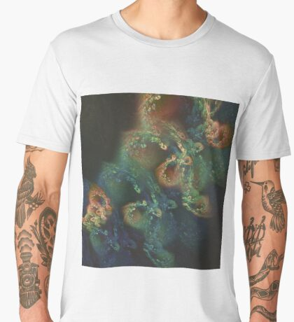 Underwater fractals Men's Premium T-Shirt