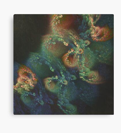 Underwater fractals Canvas Print