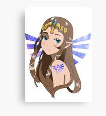 Lienzo metálico Princesa Zelda