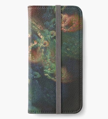 Underwater fractals iPhone Wallet