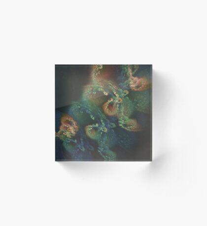 Underwater fractals Acrylic Block