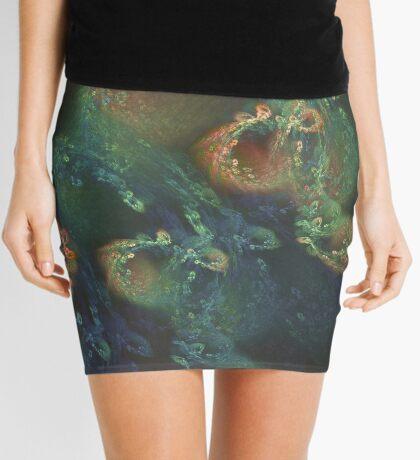 Underwater fractals Mini Skirt