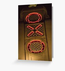 OXO Tower Greeting Card
