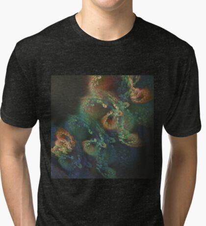 Underwater fractals Tri-blend T-Shirt