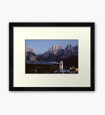 Lámina enmarcada In the Dolomites