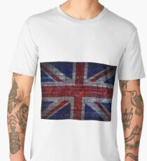 UK Flag vintage Men's Premium T-Shirt