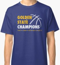 Golden State Champions (Blue) Classic T-Shirt