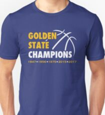 Golden State Champions (Blue) T-Shirt