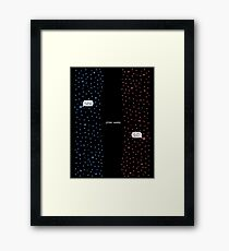 """Star Wars"" Framed Print"