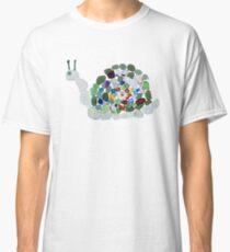 Sea Glass Snail Classic T-Shirt