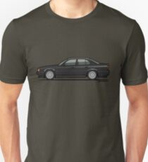 Diamond Black Bavarian E34 M Five Fuenfer T-Shirt