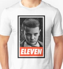 "Stranger Things ""Obey Eleven"" Logo T-Shirt"
