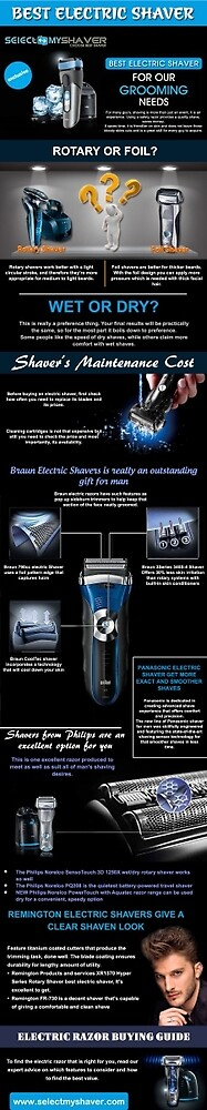 Best Electric shaver by kathrinemarsh