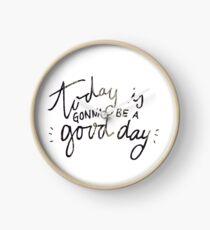 Reloj Hoy será un buen día
