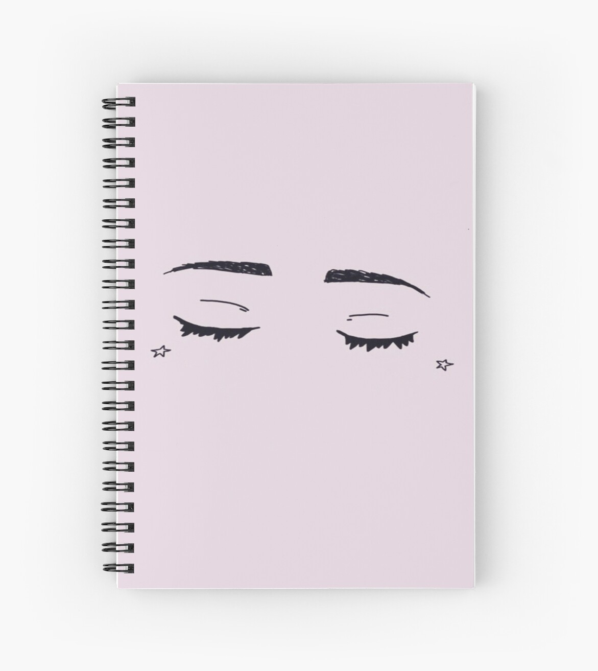Quot Aesthetic Drawing Quot Spiral Notebook By Marcomeatball
