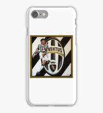 Alessandro Del Piero at Juventus FC Turin painting iPhone Case/Skin