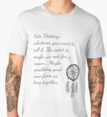 Once Upon a Time- Fate Quotes Men's Premium T-Shirt