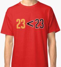Jordan Greater Than LeBron Classic T-Shirt