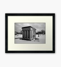 Tomb Framed Print